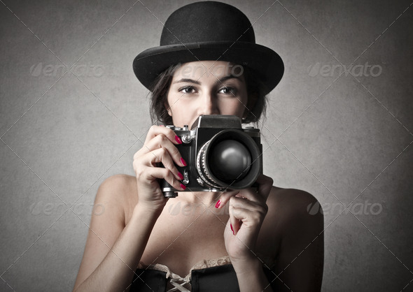 Vintage Photography - Stock Photo - Images