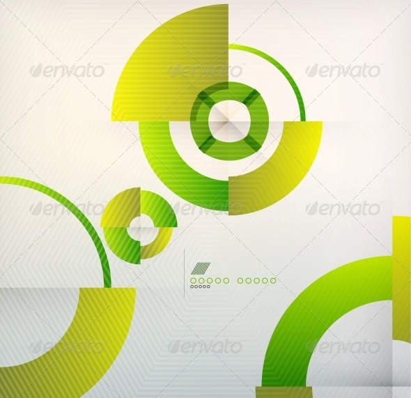 Rings Geometric Shapes Abstract Background - Backgrounds Business