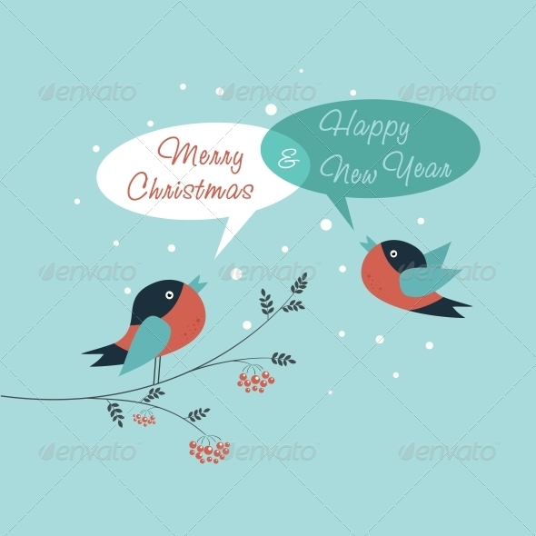 Merry Christmas Card - Christmas Seasons/Holidays