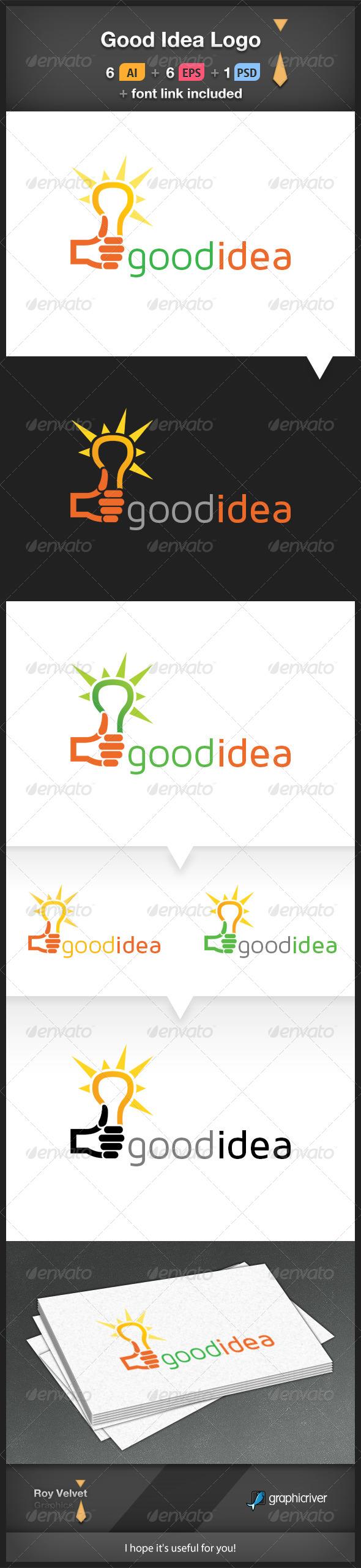 Good Idea Logo - Symbols Logo Templates