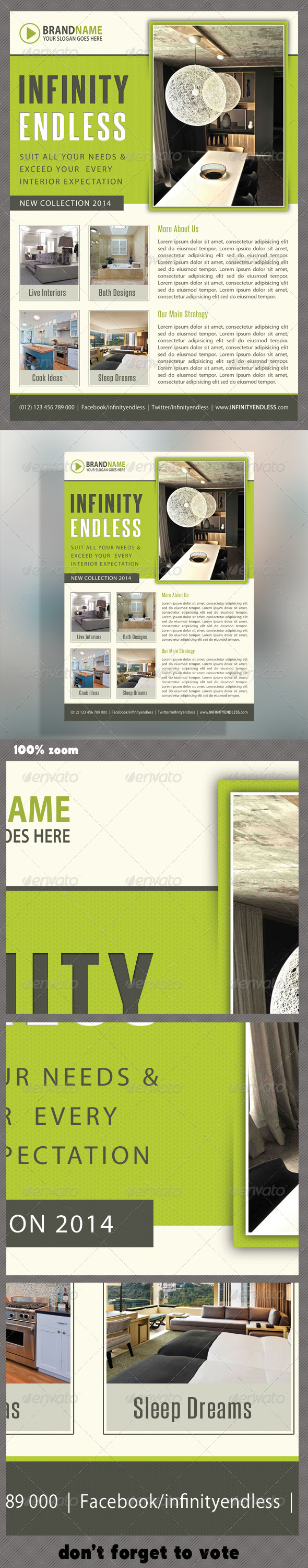 Corporate Product Flyer 47 - Commerce Flyers