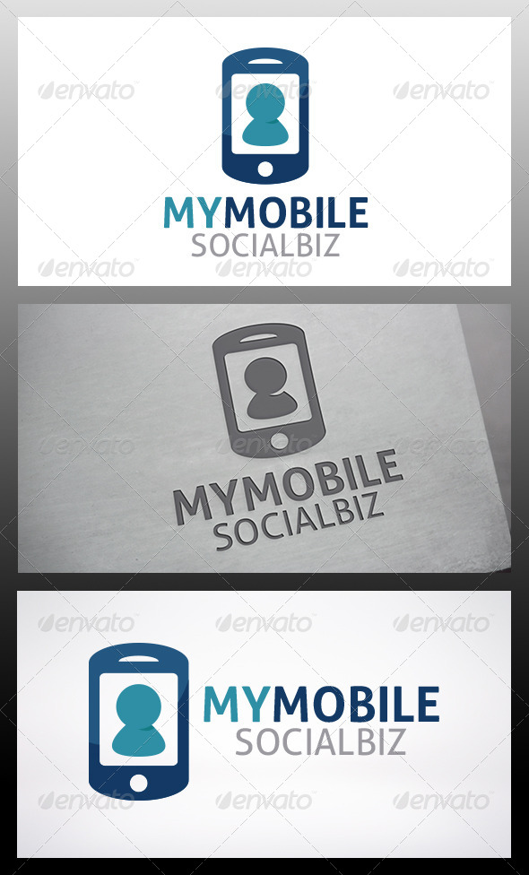 Phone Logo - Objects Logo Templates
