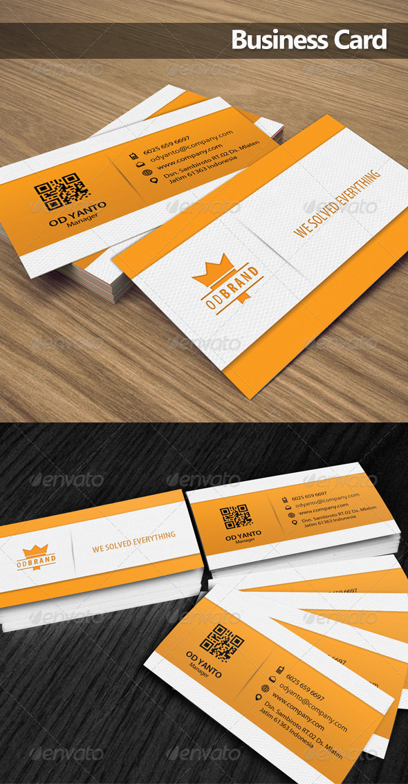 Business Card OD 5 - Corporate Business Cards