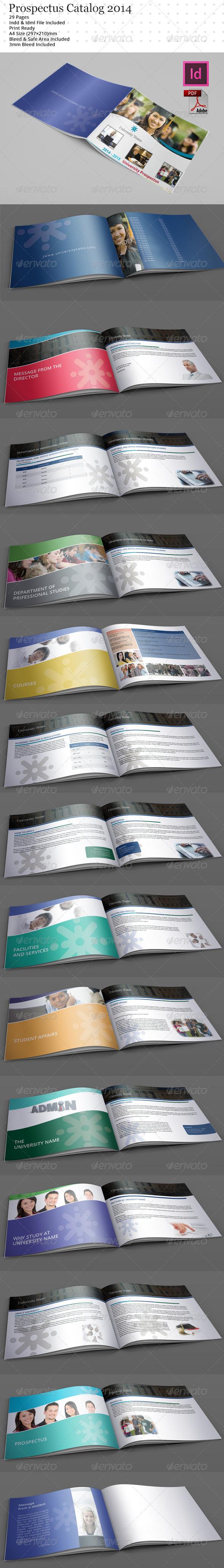Prospectus Catalog Templates 2014 - Catalogs Brochures