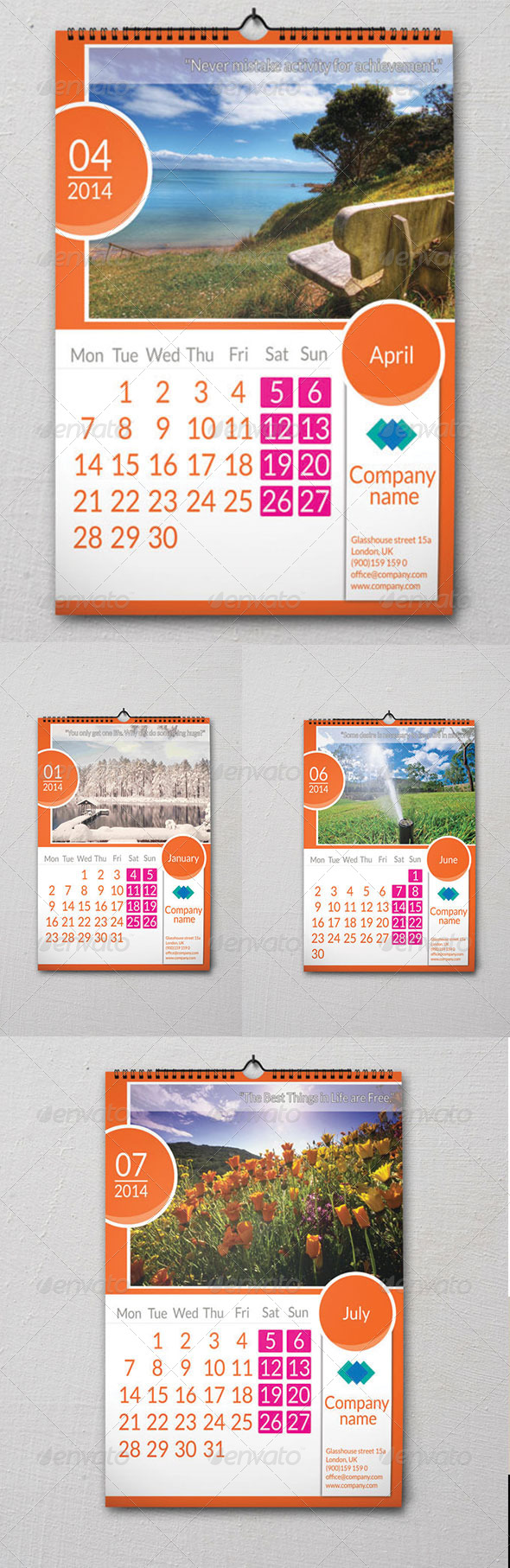 Wall Calendar  - Calendars Stationery