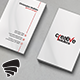 Light Corporate Business Card 54 - GraphicRiver Item for Sale