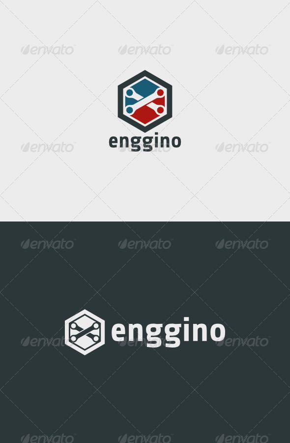 Enggino Logo  - Objects Logo Templates