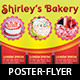 Bakery Cake Flyer Poster Template - GraphicRiver Item for Sale