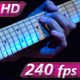 Electric Guitar at Rock Concert - VideoHive Item for Sale