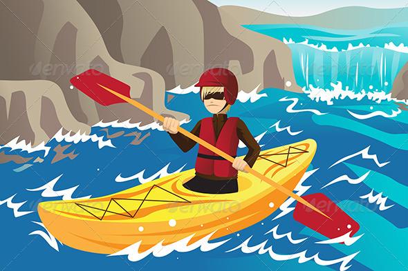 Kayaking - Sports/Activity Conceptual