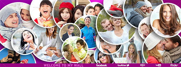 Facebook Timeline Cover (for photos) PSD - Facebook Timeline Covers Social Media