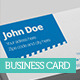 Corporate Movie - Business Card - AI / EPS FORMAT - GraphicRiver Item for Sale