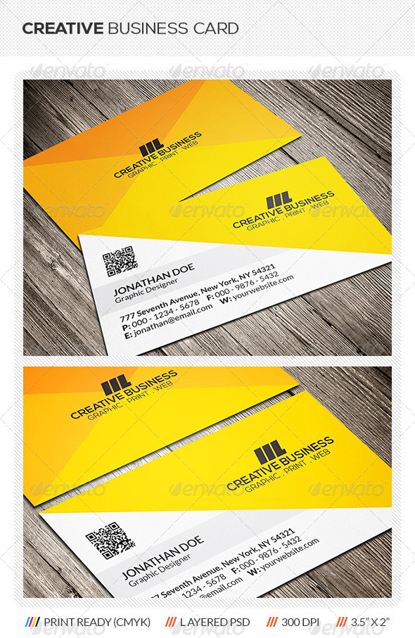 Creative Corporate Business Card - Creative Business Cards