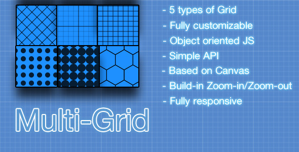 Canvas Multi-Grid construction - CodeCanyon Item for Sale