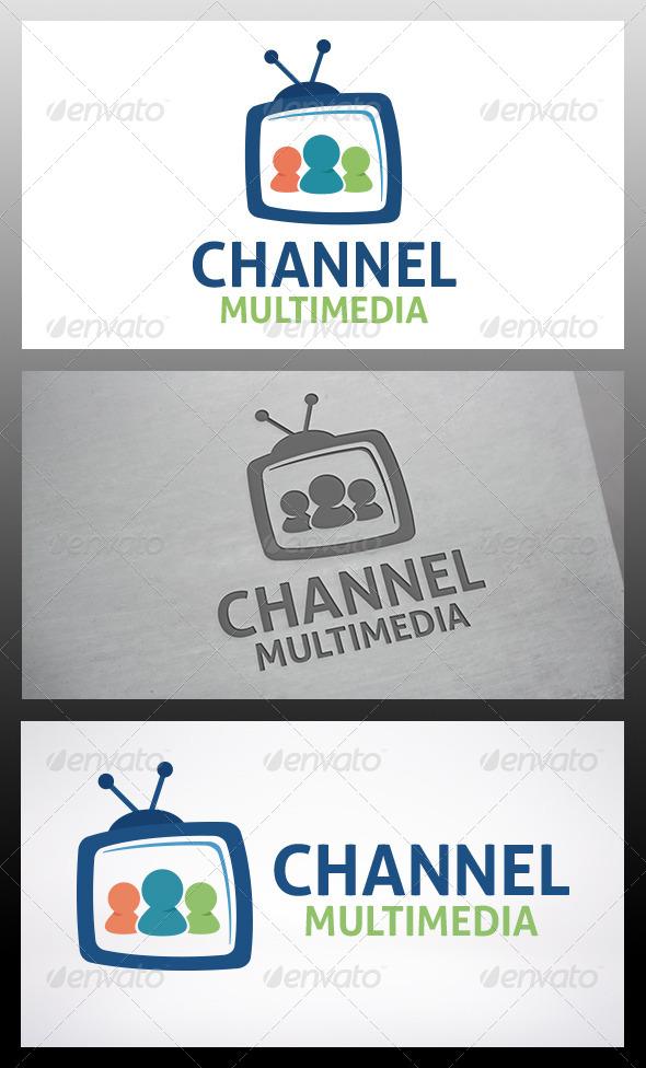 Social Tv Logo - Humans Logo Templates