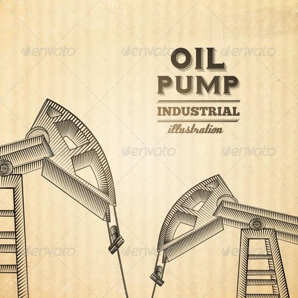 Oil Pump Jack - Industries Business