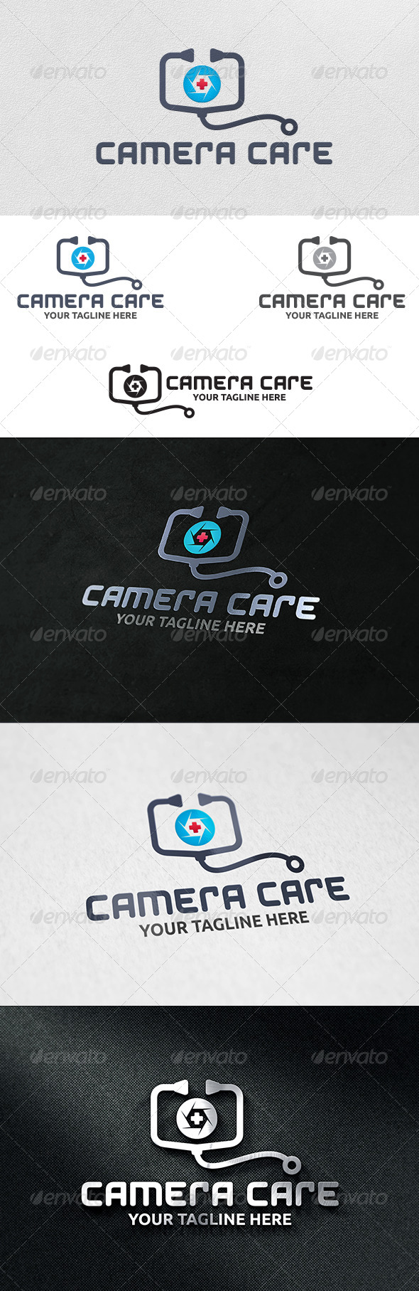 Camera Doctor - Logo Template - Objects Logo Templates