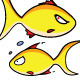 Fish Emoticons - GraphicRiver Item for Sale
