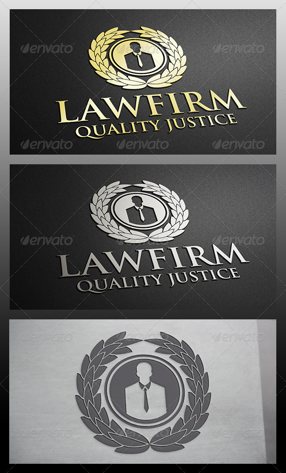 Law Logo - Crests Logo Templates