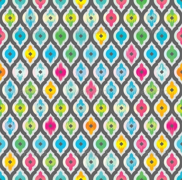 Abstract Seamless Background. Fabric Pattern. - Patterns Decorative