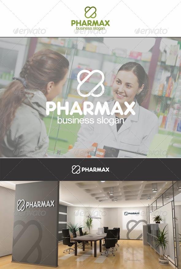 PharmaX Capsule X Letter - Letters Logo Templates