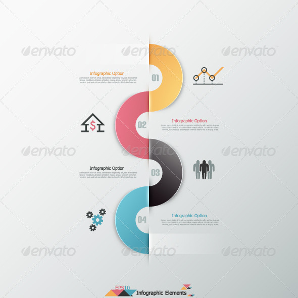 Modern Infographics Options Banner - Infographics