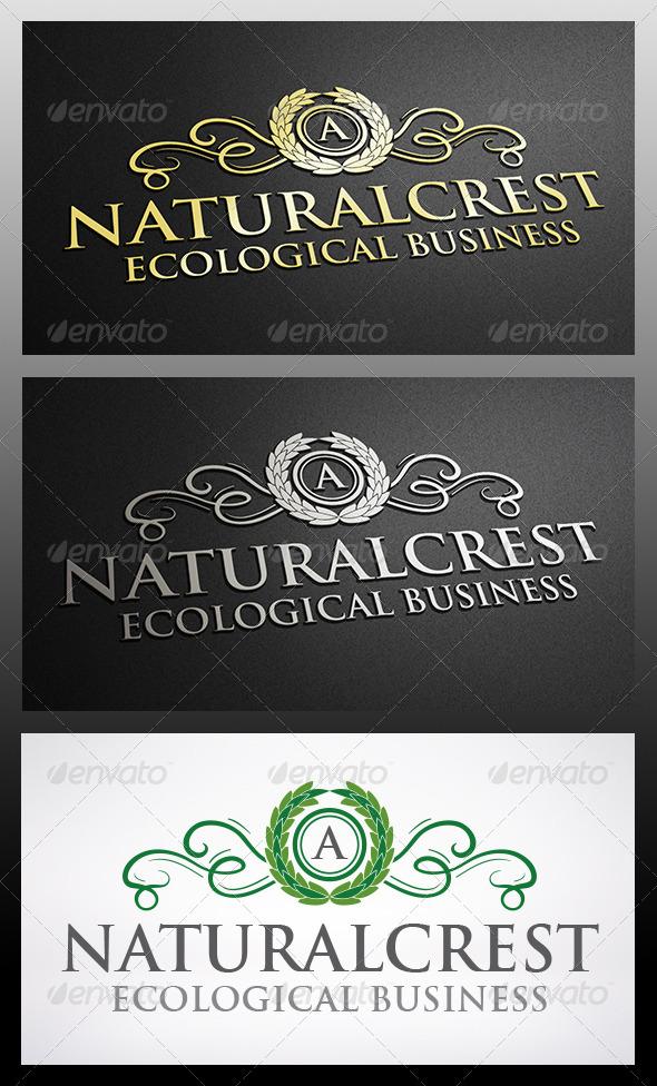 Natural Crest Logo - Crests Logo Templates