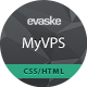 MyVPS - Responsive Hosting Template Nulled
