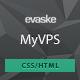 MyVPS - Responsive Hosting Template - ThemeForest Item for Sale