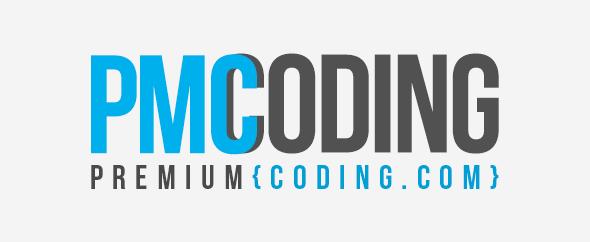 Premium coding logo envato