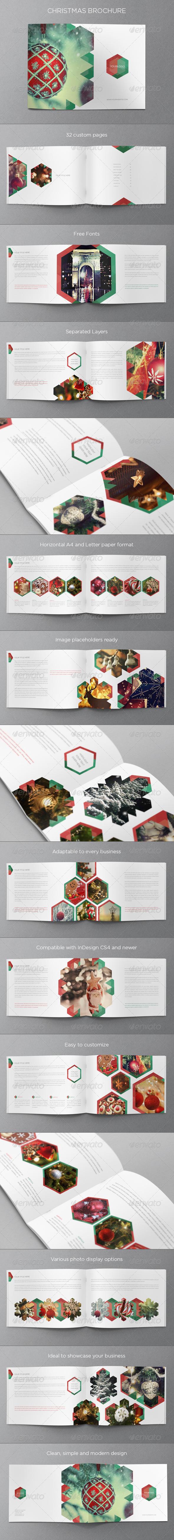 Christmas Brochure - Brochures Print Templates