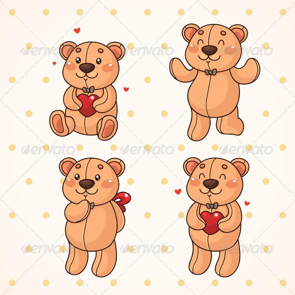 Teddy Bear - Valentines Seasons/Holidays
