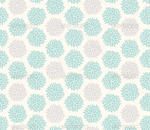 Seamless Floral Geometric Pattern - Patterns Decorative