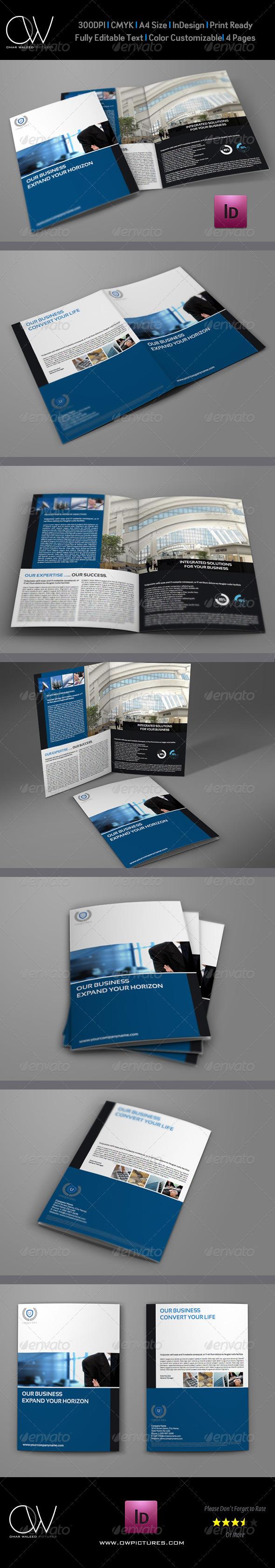 Company Brochure Bi-Fold Template Vol.7 - Corporate Brochures