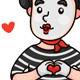 Romantic Mime - GraphicRiver Item for Sale
