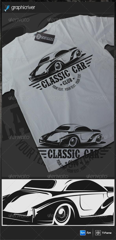Classic Car T-Shirts - T-Shirts