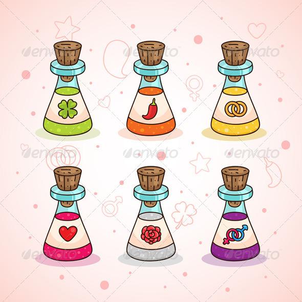 Love Potions - Valentines Seasons/Holidays