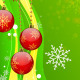 Christmas Waves and Ornaments - VideoHive Item for Sale