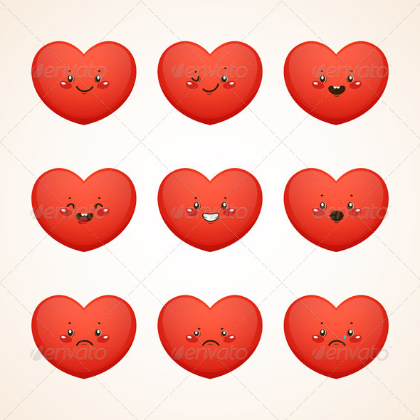 Smiley Heart - Valentines Seasons/Holidays