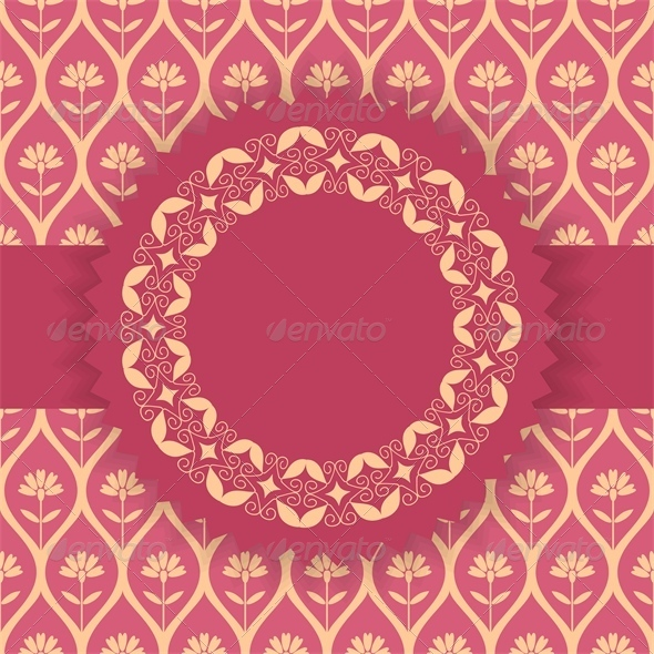Card Template - Backgrounds Decorative