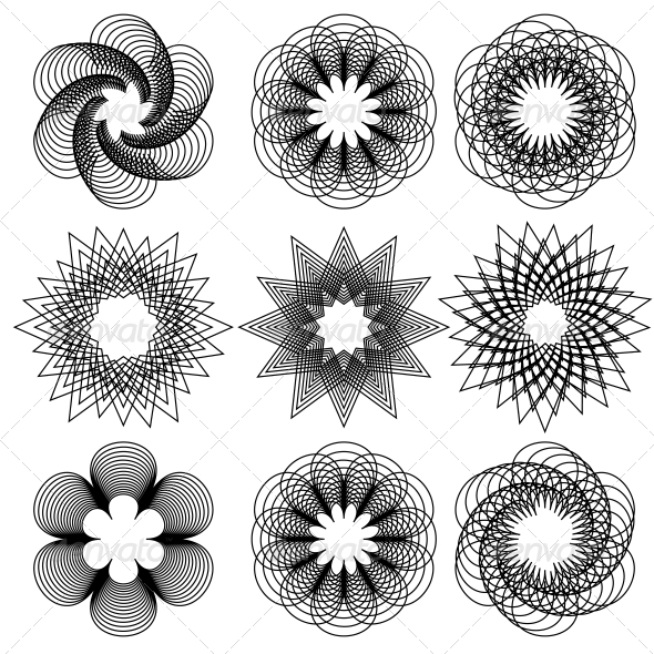 Spirals - Decorative Symbols Decorative