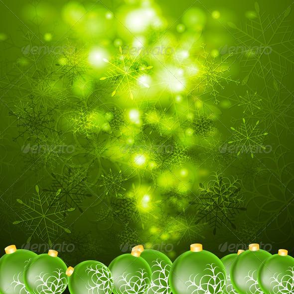 Abstract Vector Shiny Christmas Background - Christmas Seasons/Holidays