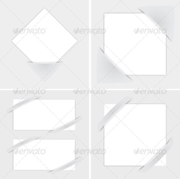 Paper Leaf - Borders Decorative