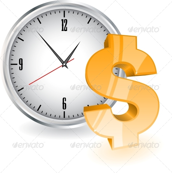 Time is Money - Backgrounds Business