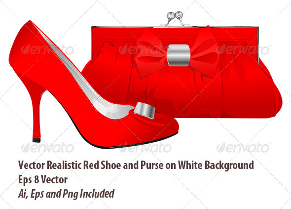Red Elegance - Objects Vectors