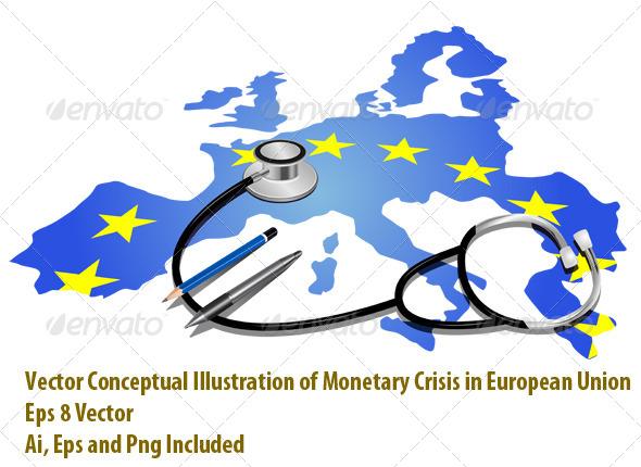 Sick Europe - Conceptual Vectors
