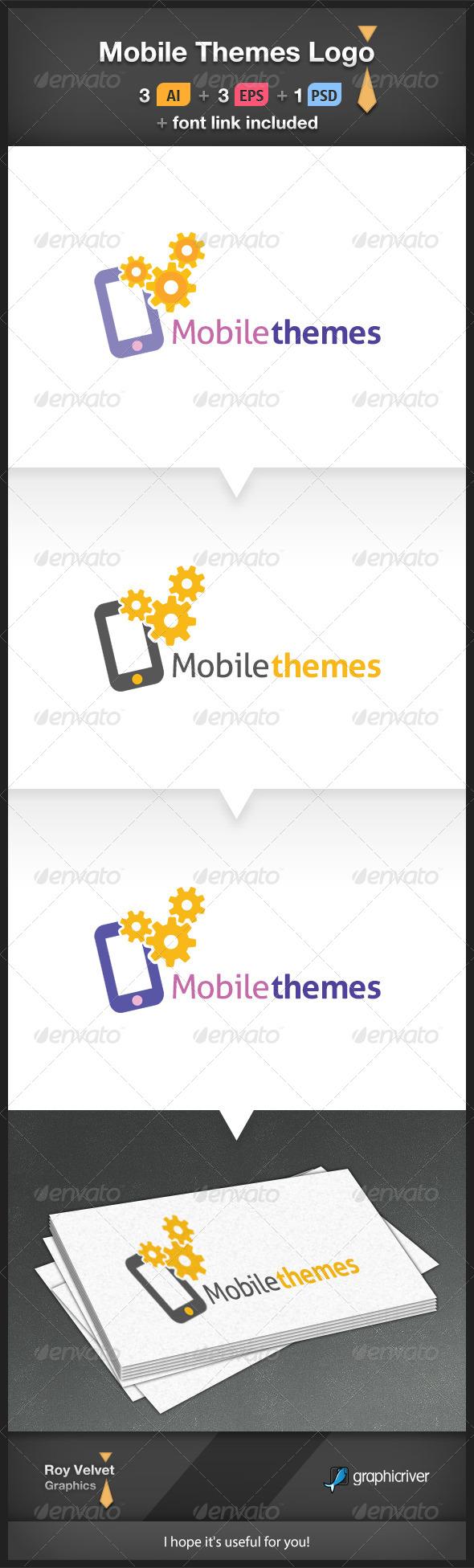 Mobile Themes Logo - Symbols Logo Templates
