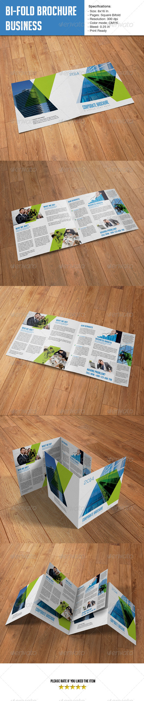 Square Bifold - Business - Corporate Brochures