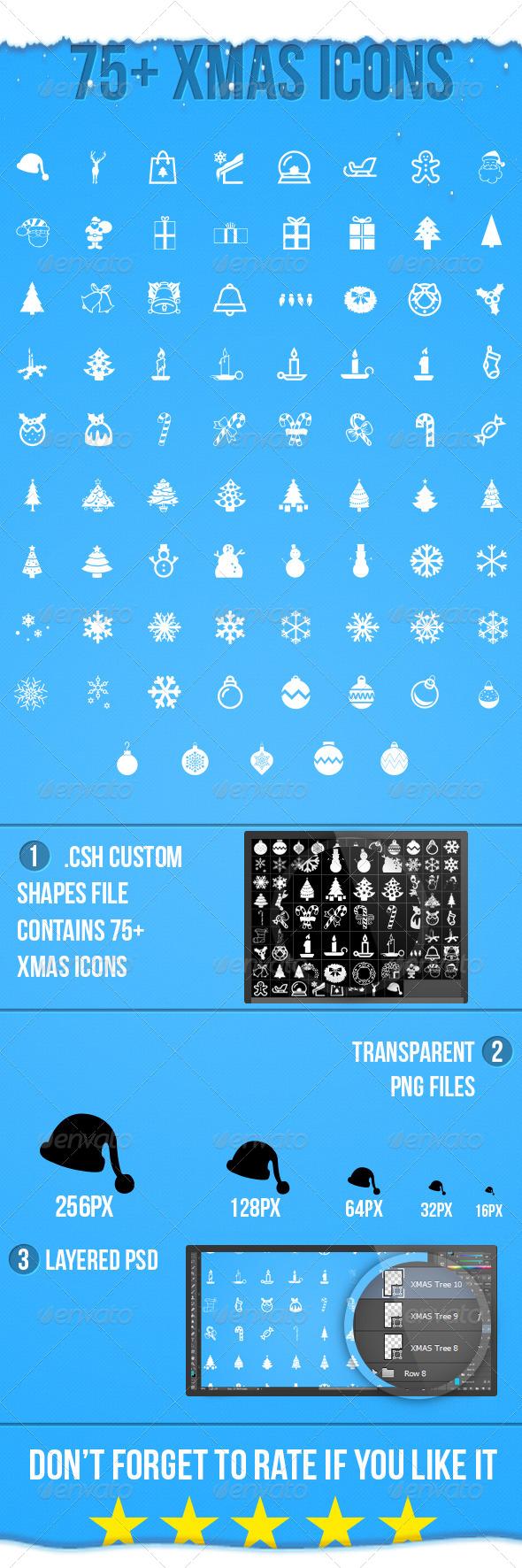 Xmas Icons - Seasonal Icons