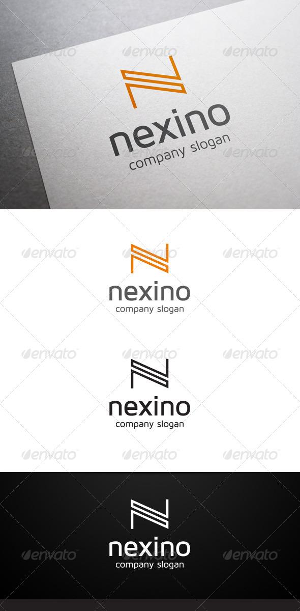 Nexino N Letter Logo - Letters Logo Templates